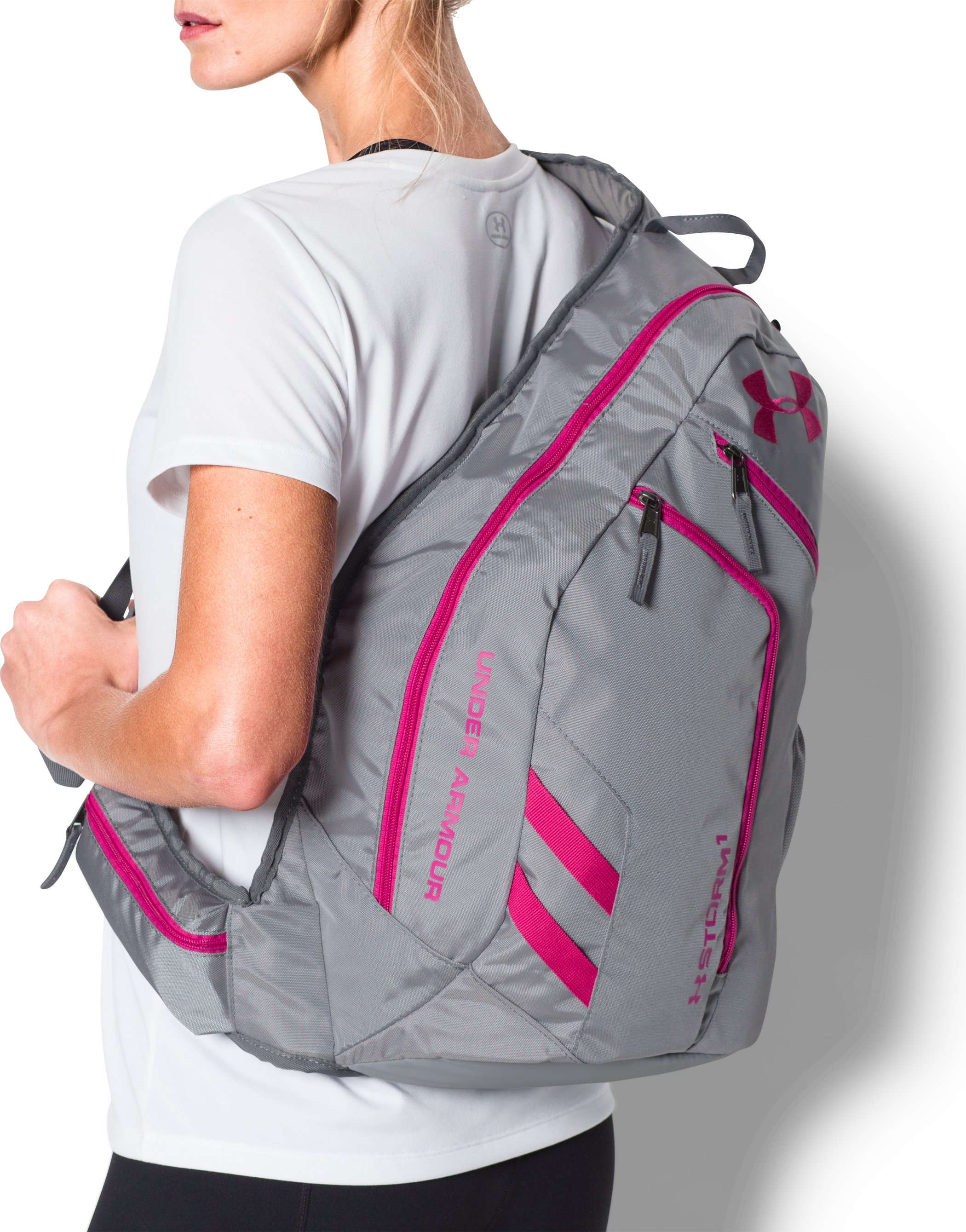 UA Compel Sling 2.0 Backpack, STEALTH GRAY,