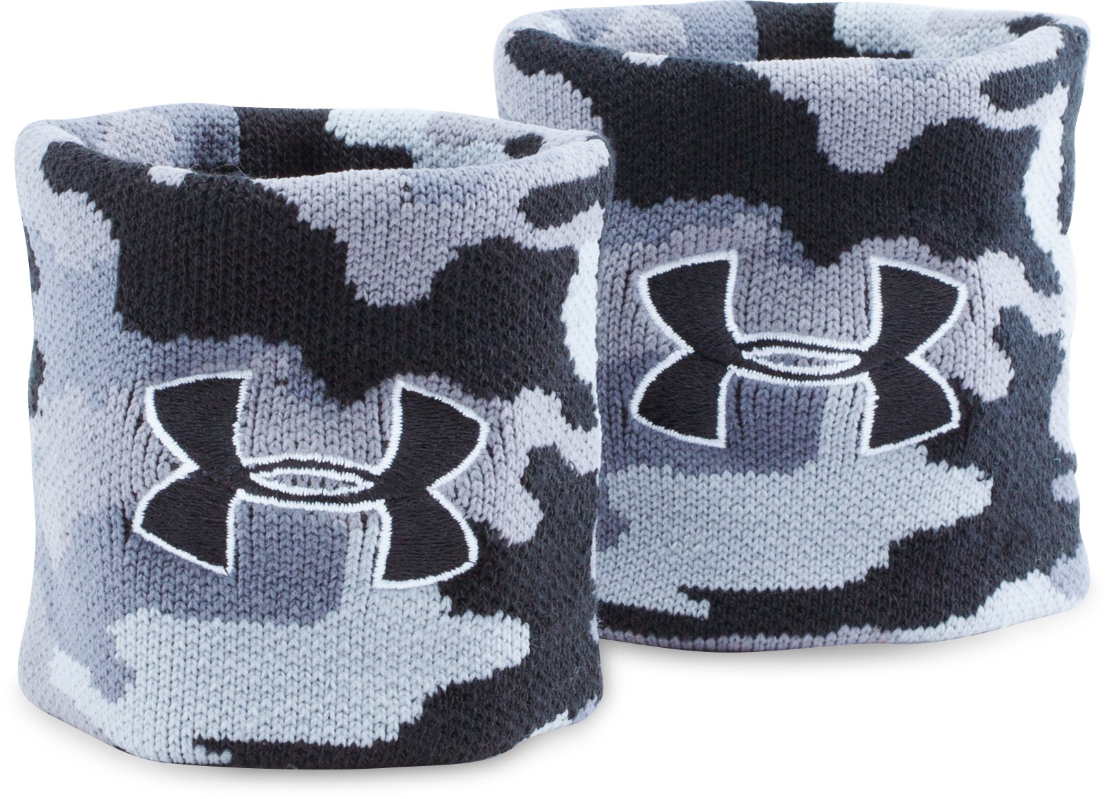 UA Jacquarded Wristbands, Black