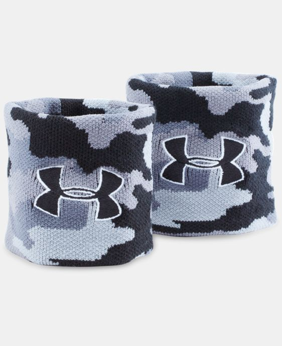 UA Jacquarded Wristbands  1 Color $11.99