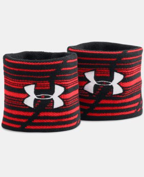 UA Jacquarded Wristbands  1 Color $7.99