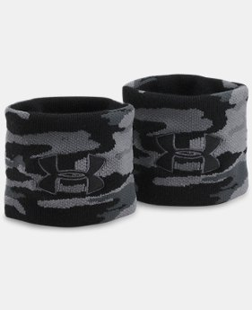 UA Jacquarded Wristbands  1 Color $9.99