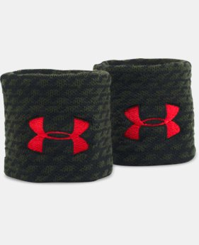 UA Jacquarded Wristbands  4 Colors $9.99