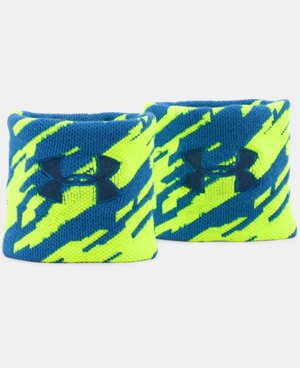 UA Jacquarded Wristbands  1 Color $6.74