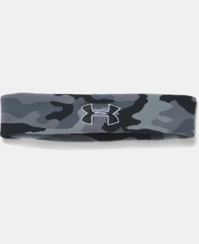 UA Jacquard Headband LIMITED TIME: FREE SHIPPING  $11.99