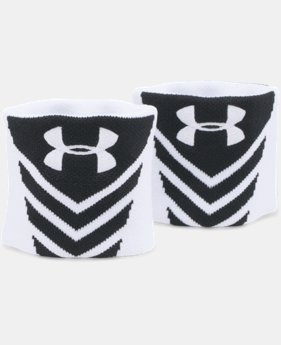 UA Undeniable Jacquarded Wristbands  2 Colors $7.99