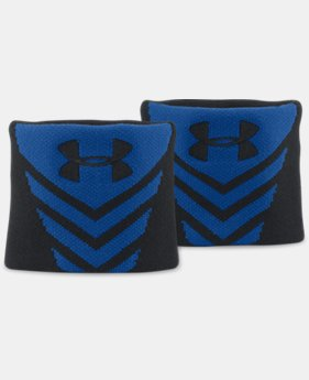 UA Undeniable Jacquarded Wristbands  1 Color $9.99