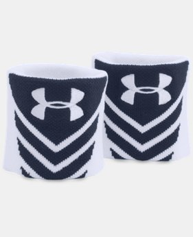UA Undeniable Jacquarded Wristbands  1 Color $7.99