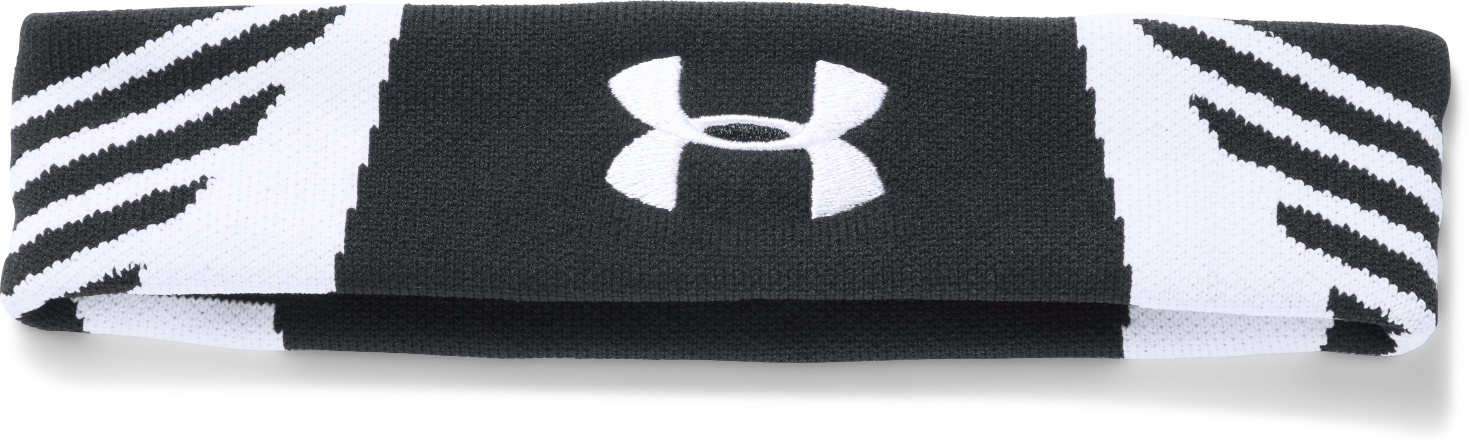 UA Undeniable Jacquarded Headband, Black