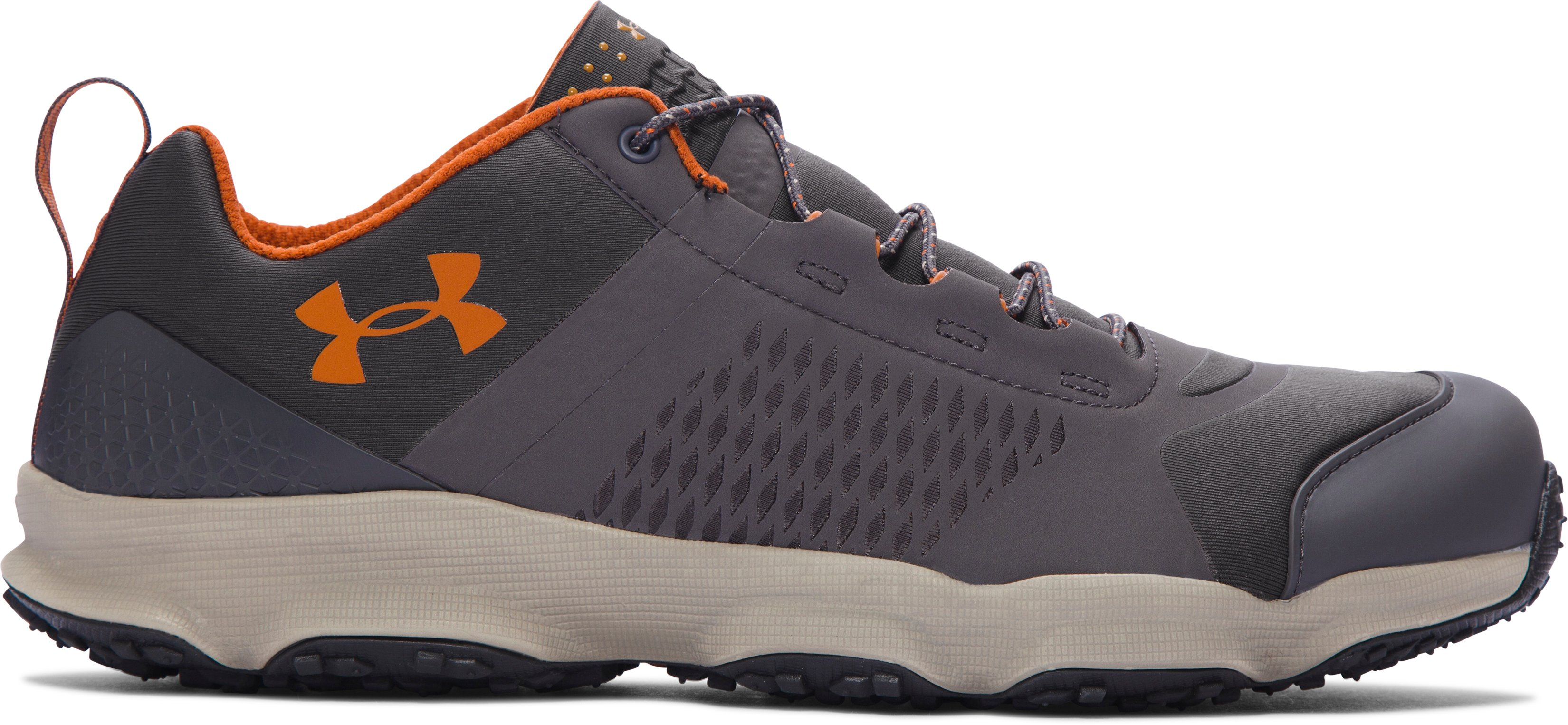 Men's UA SpeedFit Hike Low Boots, Charcoal, zoomed image