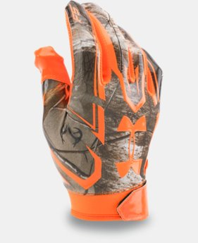Men's UA F5 Camo Football Gloves