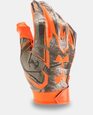 Men's UA F5 Camo Football Gloves LIMITED TIME: FREE U.S. SHIPPING 1 Color $33.99