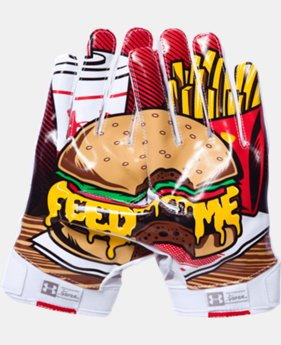 Men's UA F5 Graphic Football Gloves   $39.99