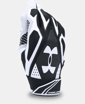 New Arrival  Boys' UA Motive III Batting Gloves   $34.99