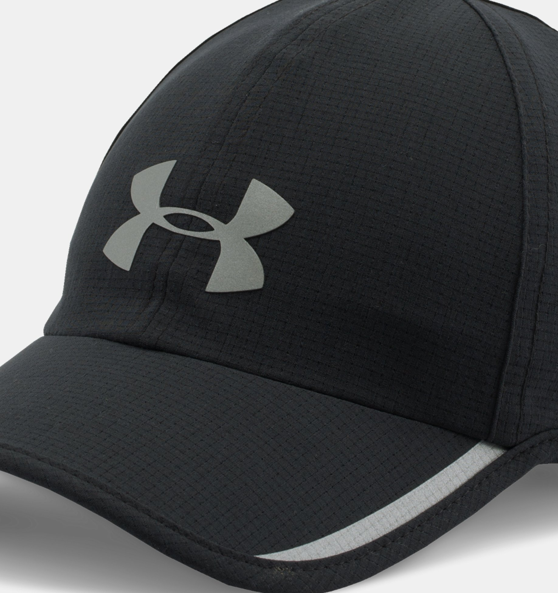 Men's UA Shadow ArmourVent™ Cap, Black, pdpZoomDesktop image number 0