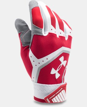 Men's UA Cage Batting Gloves  1 Color $39.99