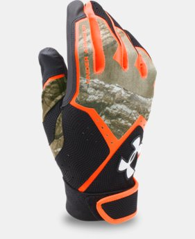 Men's UA Clean Up Camo Batting Gloves  1 Color $16.99