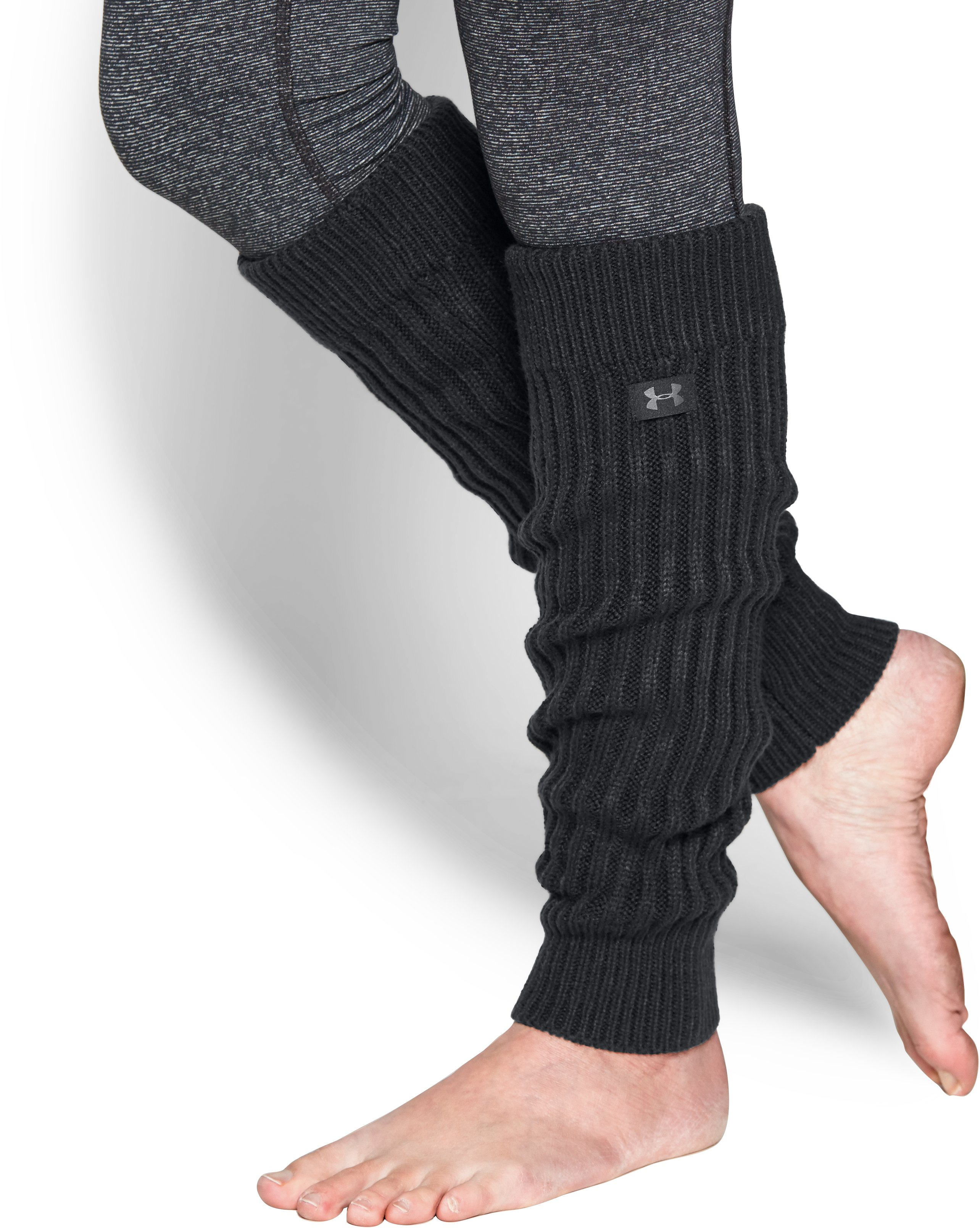 Women's UA Around Town Leg Warmers, Black , undefined
