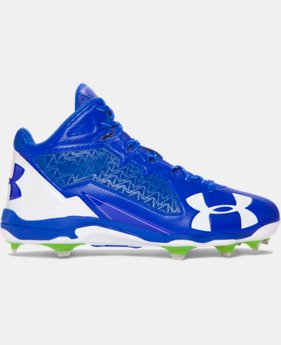 Men's UA Deception Mid DT Baseball Cleats LIMITED TIME: FREE U.S. SHIPPING 1 Color $109.99
