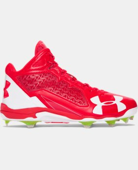 Men's UA Deception Mid DT Baseball Cleats  1 Color $82.99