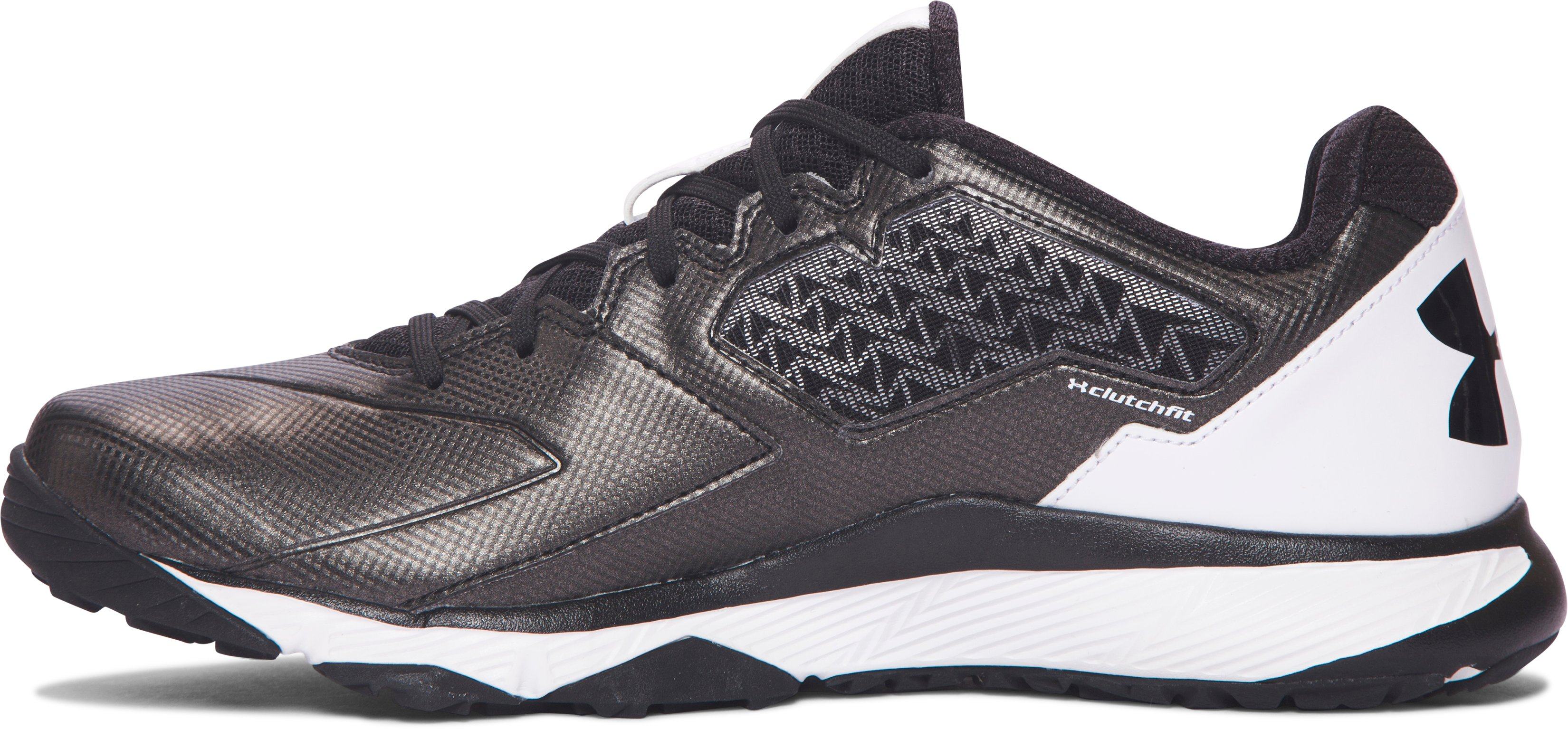 Men's UA Deception Baseball Training Shoes, Black