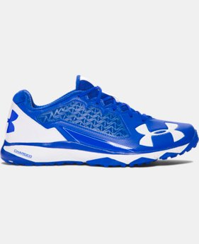 Men's UA Deception Baseball Training Shoes  1  Color Available $50.99 to $63.99