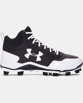 Men's UA Heater Mid TPU Baseball Cleats  3 Colors $69.99