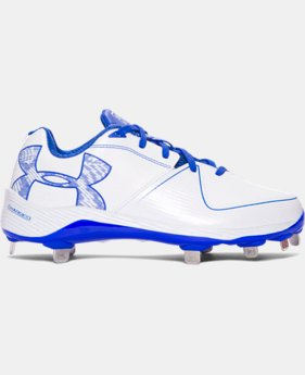 New to Outlet Women's UA Glyde 2.0 ST Softball Cleats  3 Colors $47.99 to $55.99