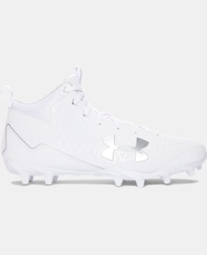 Men's UA Banshee Mid MC Lacrosse Cleats  1 Color $99.99