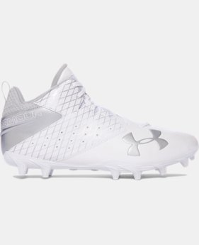 Men's UA Ripshot Mid MC Lacrosse Cleats  1  Color $48.99