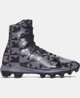 New Arrival Boys' UA Highlight RM Jr. Lacrosse Cleats  1 Color $54.99