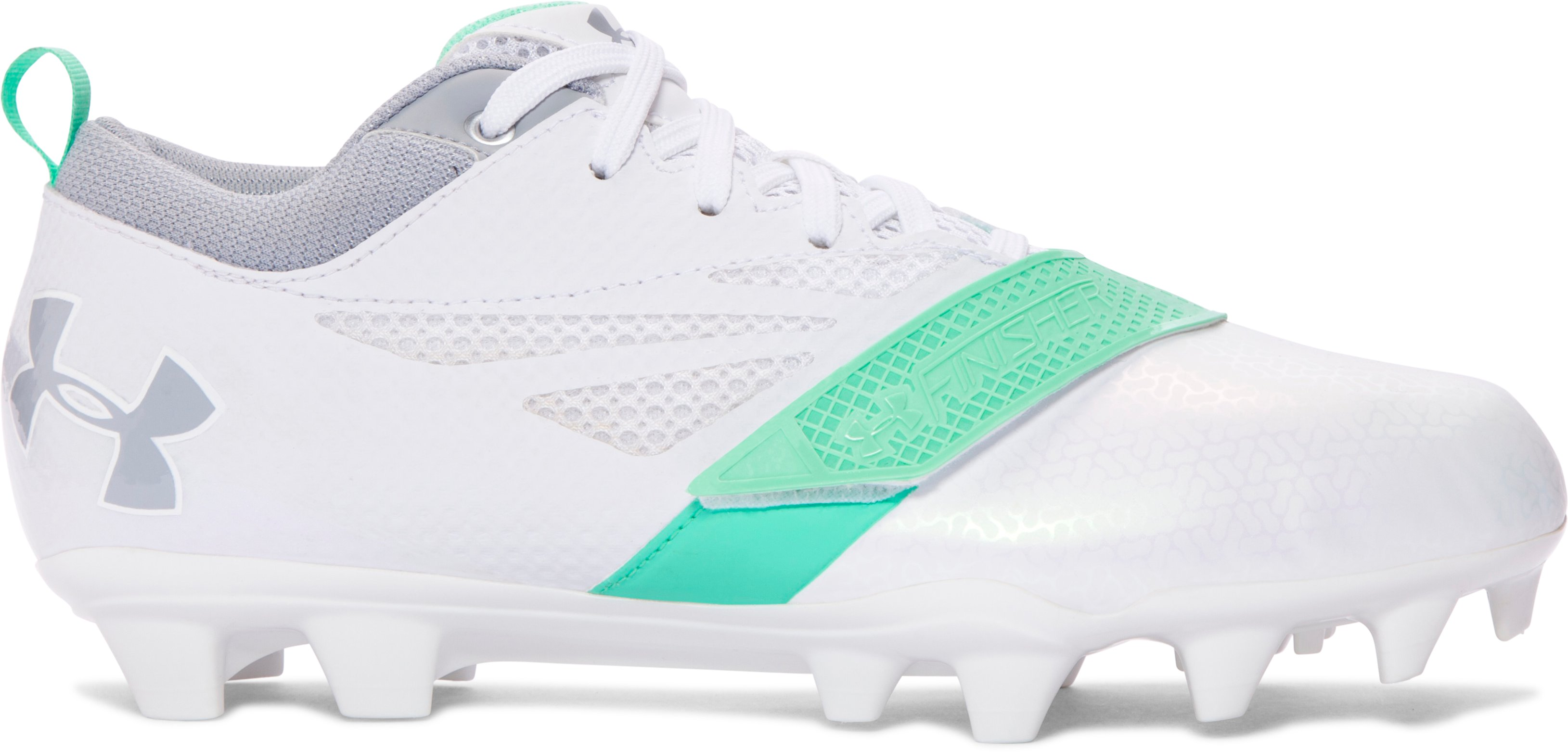 Women's UA Finisher MC Lacrosse Cleats, White
