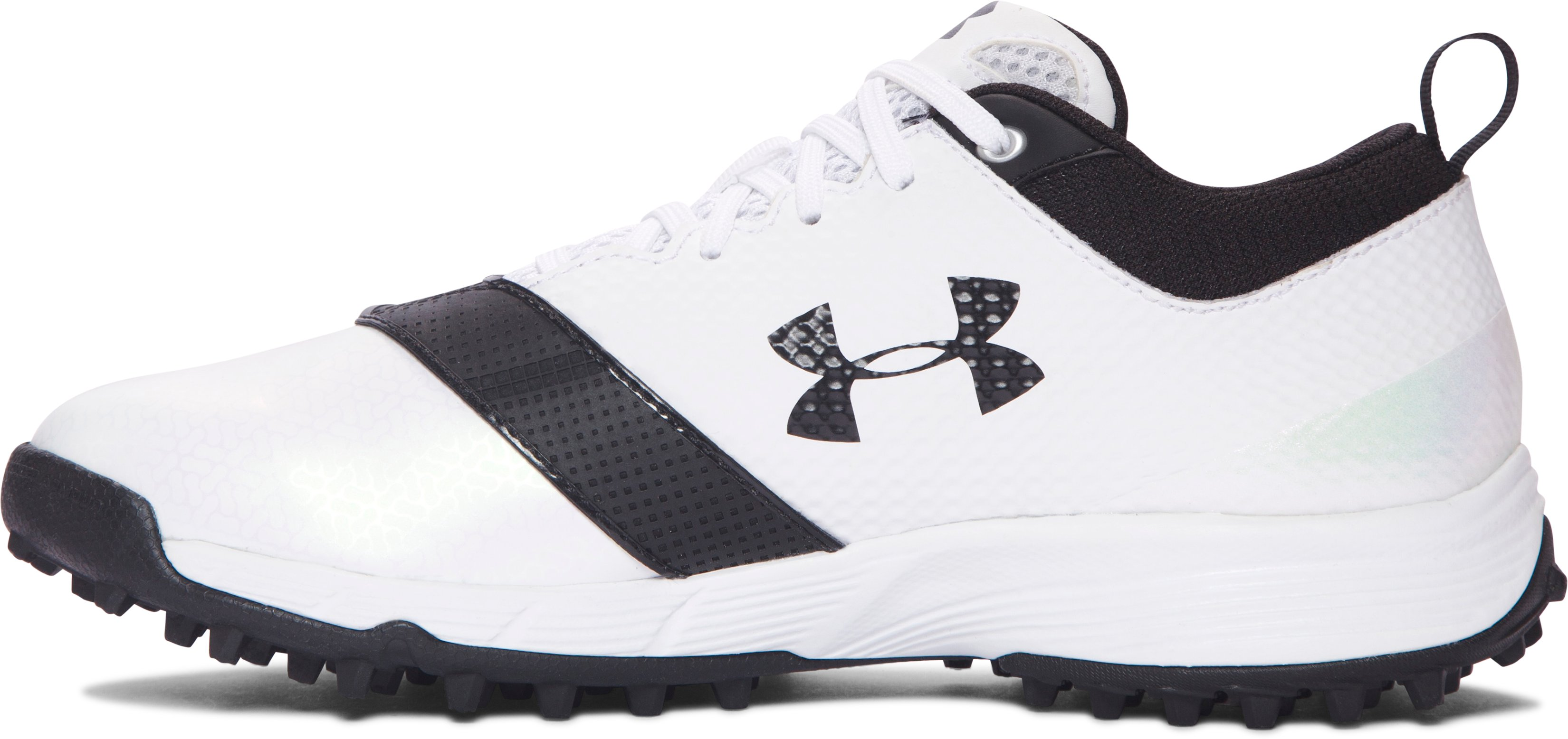 Women's UA Finisher Turf Lacrosse Cleats, White