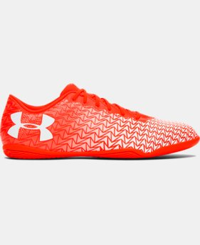 New to Outlet Men's UA CF Force 3.0 Indoor Soccer Shoes  1 Color $36.74