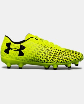 Boys' UA CF Force 3.0 FG Jr. Soccer Cleats   $37.49