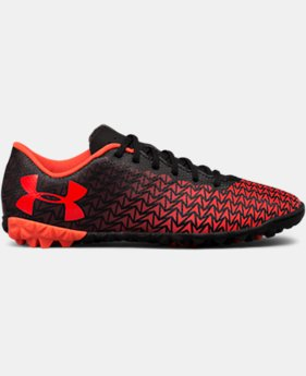 Boys' UA CF Force 3.0 Turf Jr. Soccer Shoes  1 Color $37.49
