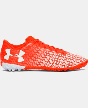 New Arrival Kids' UA ClutchFit® Force 3.0 Turf Jr. Soccer Shoes  2 Colors $49.99