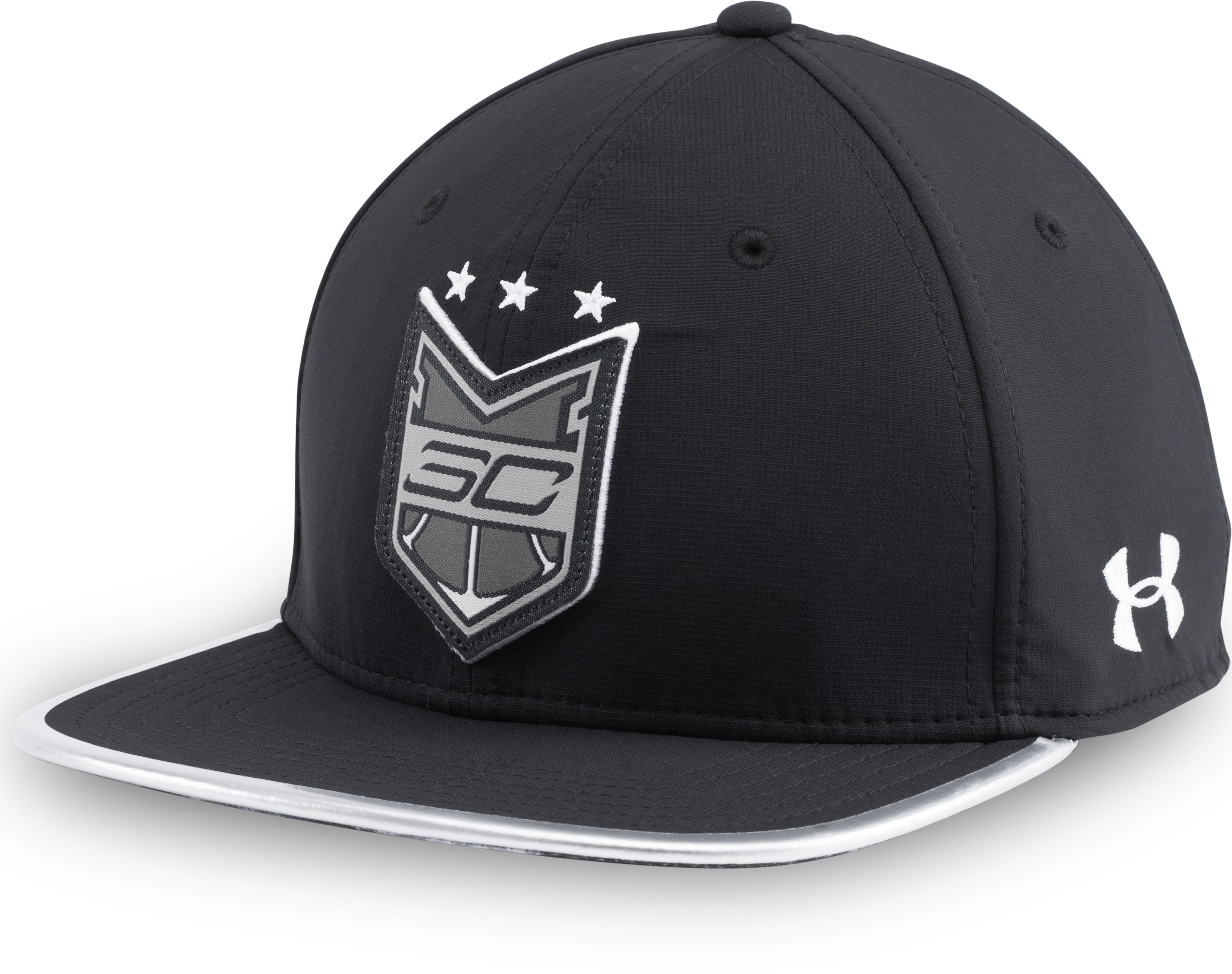 Men's SC30 Crest Snap Back Cap, Black , zoomed image