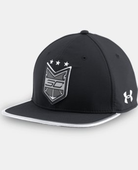Men's SC30 Crest Snapback Cap  2 Colors $39.99