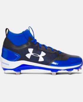 Men's UA Heater Mid ST Baseball Cleats  1 Color $89.99