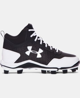 Boys' UA Heater Mid TPU Jr. Baseball Cleats  3 Colors $54.99