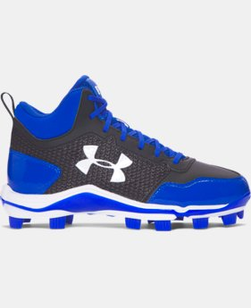 Boys' UA Heater Mid TPU Jr. Baseball Cleats   $54.99