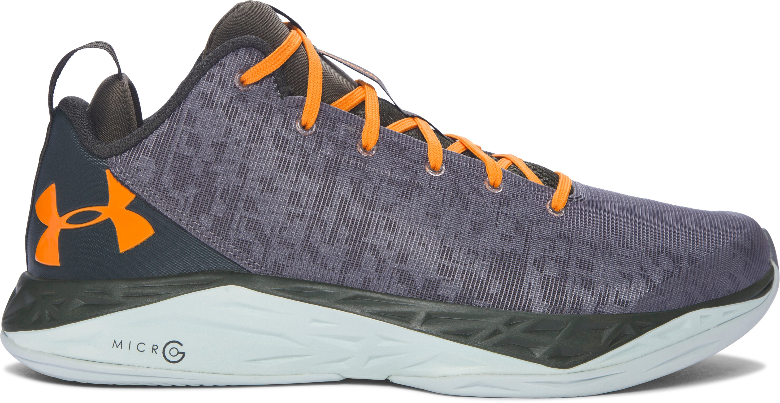 Men's UA Fireshot Low Basketball Shoes, Graphite