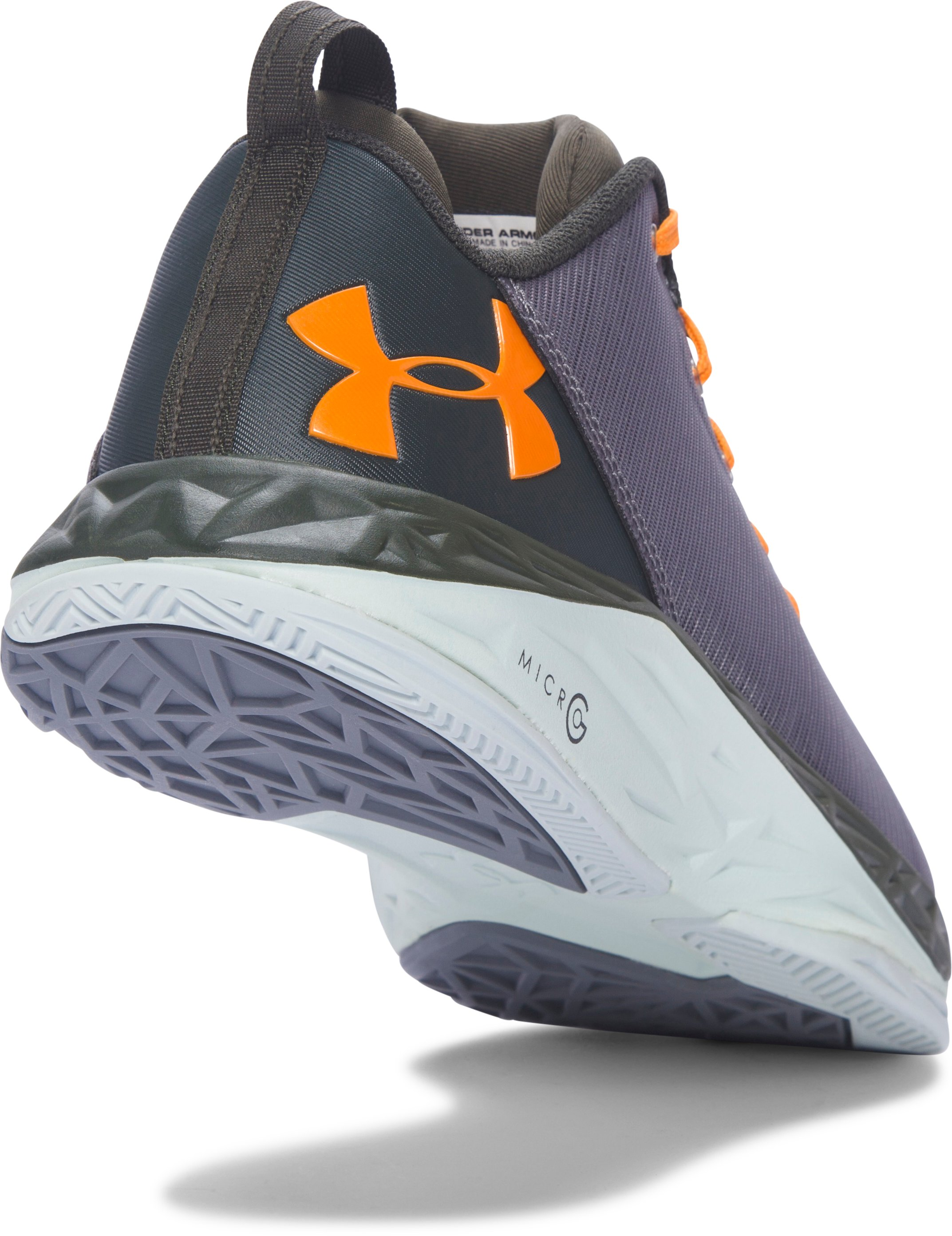 Men's UA Fireshot Low Basketball Shoes, Graphite, undefined