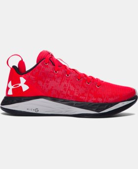 Boys' Grade School UA Fireshot Low Basketball Shoes   $79.99