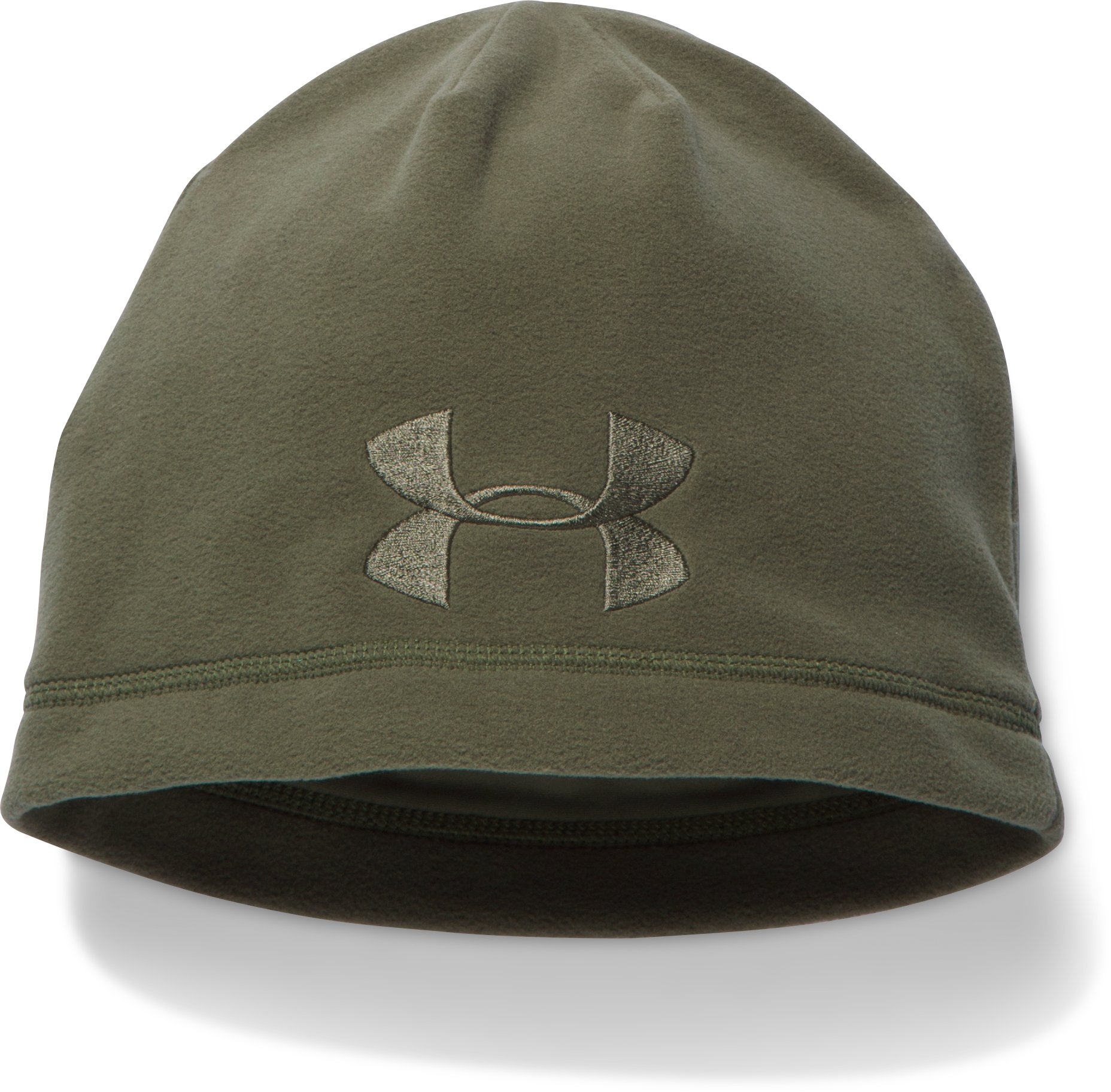 Men's UA Tactical Fleece Beanie, Marine OD Green, undefined