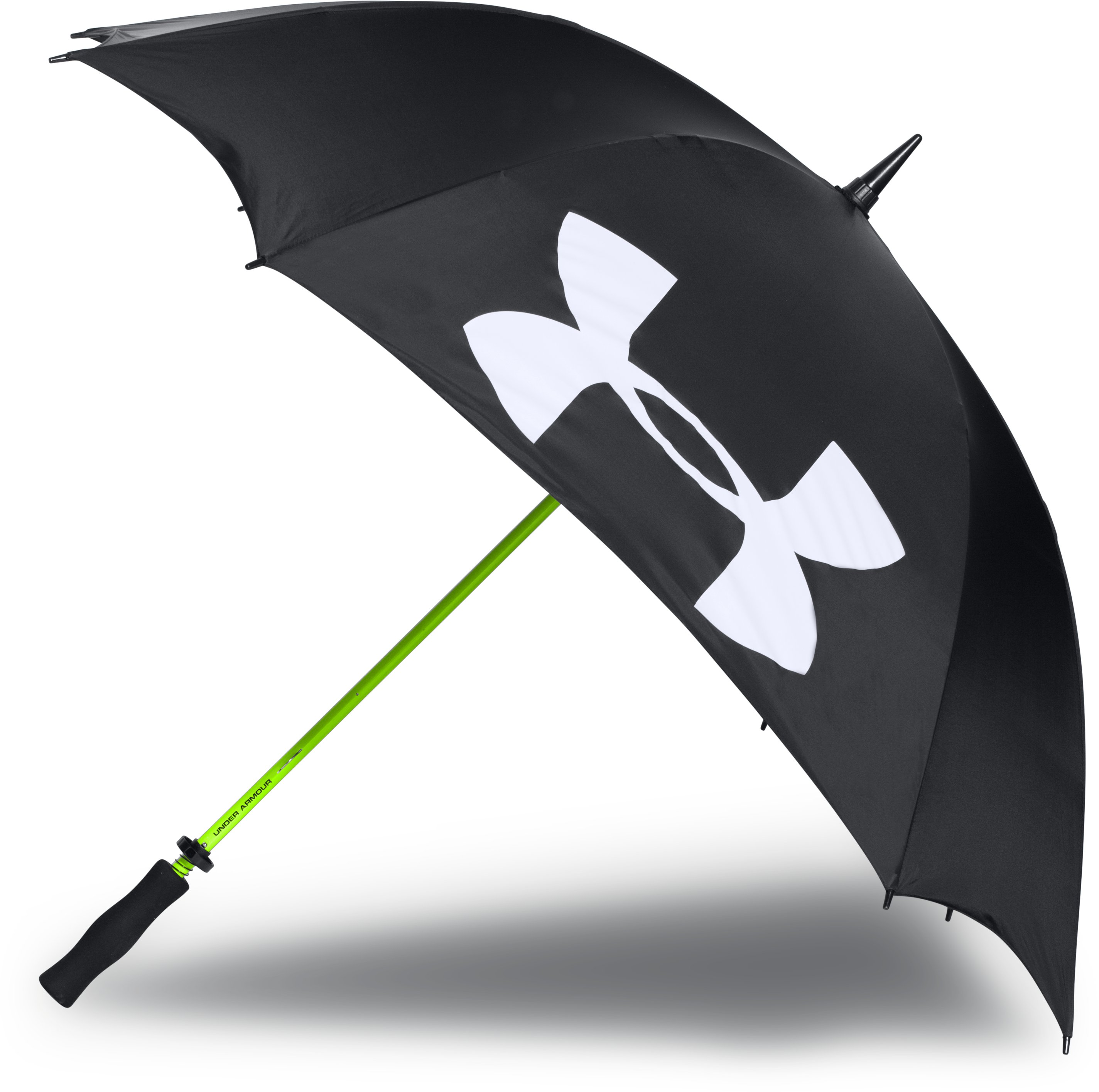 UA Golf Umbrella – Single Canopy, Black ,