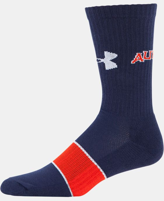 Men's Auburn UA Crew Socks LIMITED TIME: FREE U.S. SHIPPING 1 Color $21.99
