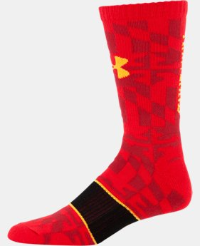 Men's Maryland UA Crew Socks