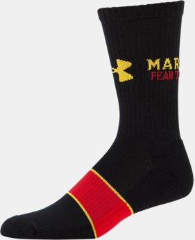 Men's Maryland UA Crew Socks LIMITED TIME: FREE U.S. SHIPPING 1 Color $16.99