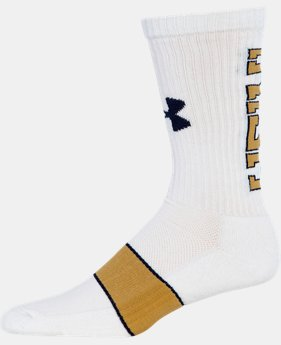 Men's Notre Dame UA Crew Socks  1 Color $16.99